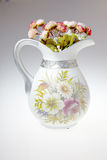 Vase with flowers Royalty Free Stock Photos