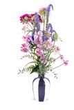 Vase with Flowers Stock Image