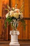 Vase of flowers Stock Image