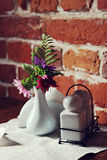 Vase with flowers Royalty Free Stock Image