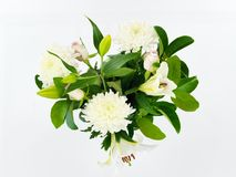 Vase Of Flowers Royalty Free Stock Photos
