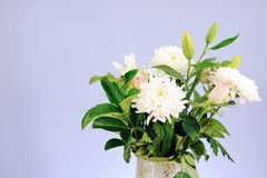 Vase Of Flowers Royalty Free Stock Image