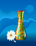Vase-Herbera Stock Photos