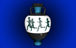 Vase i antik stil Royaltyfria Foton