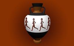 Vase i antik stil Royaltyfri Foto
