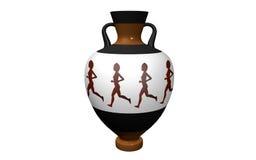 Vase i antik stil Royaltyfri Bild