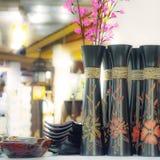 Vase for interior decor in home.  Stock Image