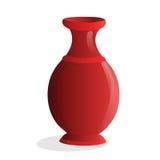 Vase isolated illustration Royalty Free Stock Photos