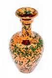 Vase of metallic aspect Royalty Free Stock Photo