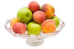 Vase mit Früchten Lizenzfreies Stockfoto