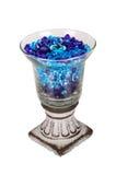 Vase mit Weinlesebasis Stockbilder
