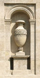 Vase on pedestal Stock Image