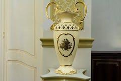 Vase on a pedestal Royalty Free Stock Photo