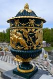 Vase in Peterhof Stockbilder