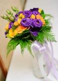 Vase of rose Royalty Free Stock Photo