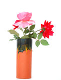 Vase rose normal Images stock