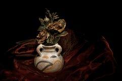 Vase of roses Royalty Free Stock Photos