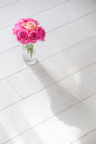 Vase with roses Royalty Free Stock Photography