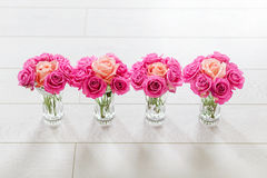 Vase with roses Stock Image