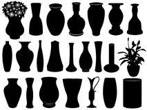 Vase Set Stock Photography