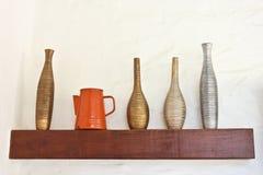 Vase on the Shelf Royalty Free Stock Photos