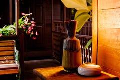Vase sur le Tableau Image stock