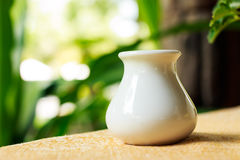 Vase on the table Royalty Free Stock Photography