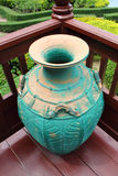 Vase thai style Stock Image