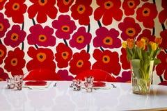 Vase of tulips Royalty Free Stock Image