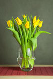 Vase with tulips Stock Image