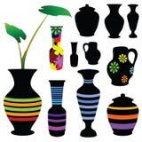 Vase vector illustration Stock Image