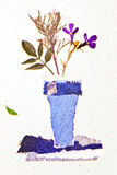 Vase wallpaper Stock Images