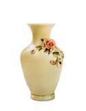 Vase on white background Royalty Free Stock Images