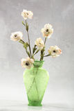 Vase of white flowers Royalty Free Stock Images