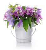 Vase with wildflowers Royalty Free Stock Image