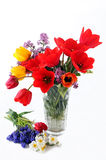 Vase With Flowers Royalty Free Stock Photo