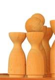 Vase wood Stock Photography