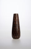 Vase or Wooden vase designed in modern style good for home decor Royalty Free Stock Photos