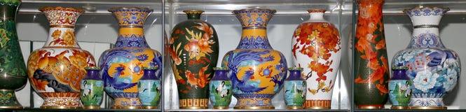 Vasen des traditionellen Chinesen Stockfotos