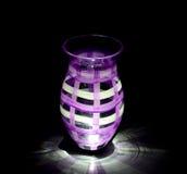 Vasen-Lit von unterhalb Stockfoto