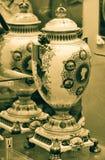 Vaser för drottning Victoria Diamond Jubilee fotografering för bildbyråer