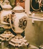Vaser för drottning Victoria Diamond Jubilee royaltyfri foto