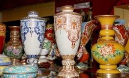 Vaser för traditionell kines royaltyfria foton