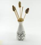Vases à Aromatherapy sur un fond blanc Photos libres de droits