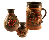 vases γυαλιού μπύρας Στοκ Εικόνα