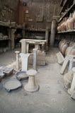 vases της Πομπηίας remants Στοκ Εικόνα