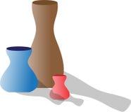 vases Vektor Illustrationer