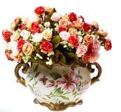 Vases avec des fleurs Photo libre de droits