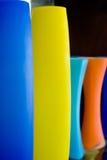 Vases colorés Images libres de droits