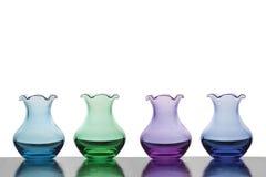 Vases colorés Photos libres de droits